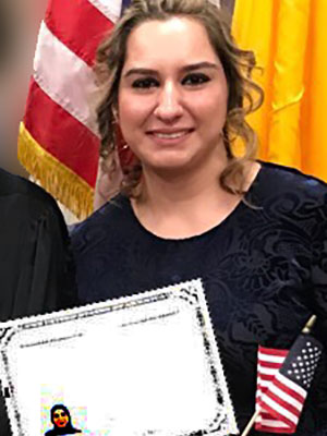 Alazzwi Becomes An American Citizen