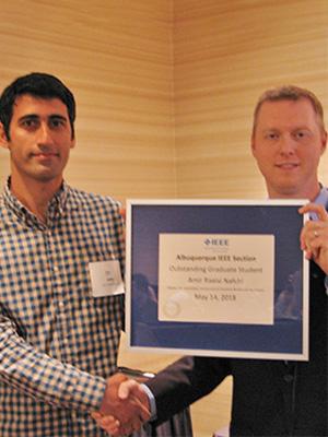 Nafchi Wins IEEE ABQ Grad Award