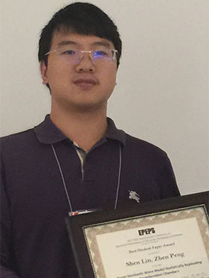 Shen Lin Wins Best Paper at EPEPS