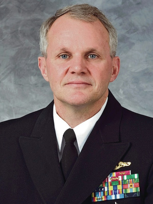 Rear Admiral Visits ECE Microwave Lab