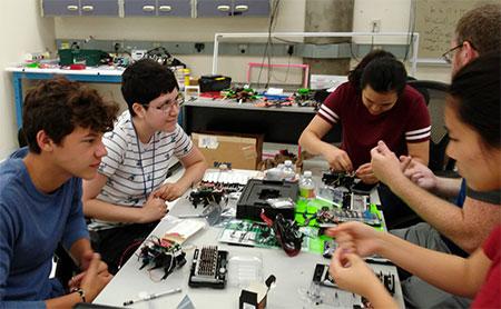 Swarming Robots 2